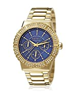 ESPRIT COLLECTION Reloj de cuarzo Woman EL102062F06 Azul/Dorado