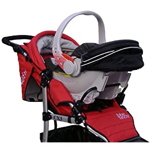 Tike Tech Single Stroller Car Seat Adapter