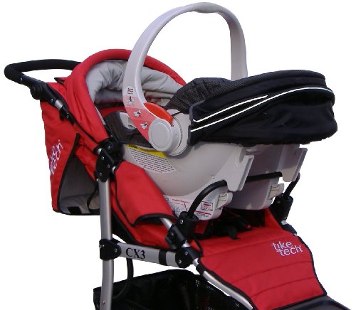 Tike Tech Tike Tech Single Stroller Car Seat Adapter
