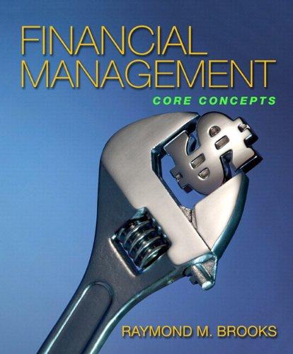 Financial Management: Core Concepts & MyFinanceLab...