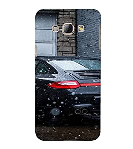 EPICCASE Porsche Car Mobile Back Case Cover For Samsung Galaxy A8 (Designer Case)