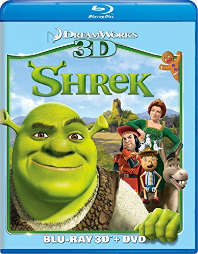 Blu-ray 3D : Shrek (With DVD, Widescreen, Dubbed, , Dolby)