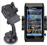 Mobilizers: In Car Windscreen Suction Mount Holder Cradle For New NOKIA N8 / 500 / Lumia 710 / Lumia 800