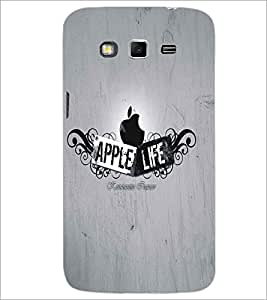 SAMSUNG GALAXY GRAND 2 APPLE LIFE Designer Back Cover Case By PRINTSWAG