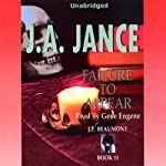 Failure to Appear: J. P. Beaumont Series, Book 11 (       UNABRIDGED) by J. A. Jance Narrated by Gene Engene