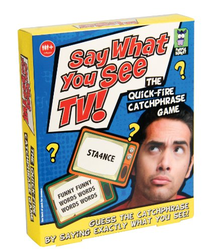 Say What You See Catchphrase Game