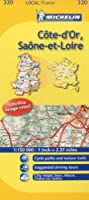Michelin Map France: Cte-d'or, Sane-et-loire 320