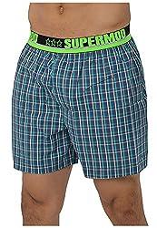 Supermod Men's Cotton Boxer (SM03-BS-Multi-Coloured-L, Multi-Coloured, Large)