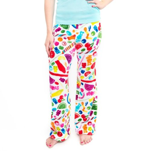 Dylan's Candy Bar Fuzzy Candy Spill Pants - Women