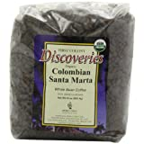 First Colony Organic Whole Bean Coffee, Colombian Santa Marta