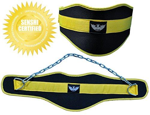 SENSHI-JAPAN ORIGINALE cintura per sollevamento pesi allenamento palestra