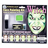 How to paint face like witch