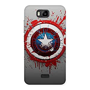 Premium Premier Blood Round Multicolor Back Case Cover for Honor Bee