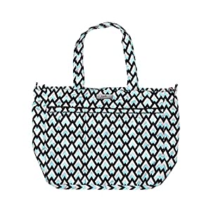Ju-Ju-Be Onyx Collection Super Be Zippered Tote Diaper Bag by Ju-Ju-Be