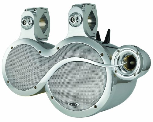 "Boss Audio Rocker 1000-Watt 3 Way Marine 8""& 5.25"" Waketower"
