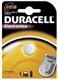 Duracell Electronics DL2016 Coin Cell 3 V Lithium Battery