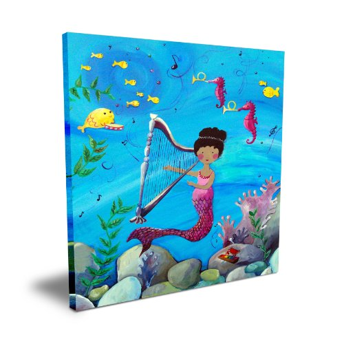 "Cici Art Factory Mermaid, 16""x 16"""