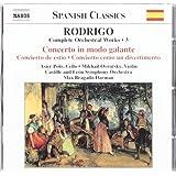 Rodrigo: Complete Orchestral Works, No. 3