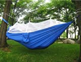 Portable Hammocks Jungle Camping Mosquito Net Outdoor Hanging Sleeping Bed