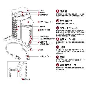 BioLite(バイオライト) キャンプストーブ ( POTアダプター ) 1824222