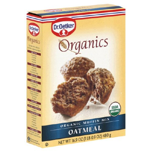 Dr. Oetker Organics Muffin Mix, Oatmeal, 16.9-Ounce Boxes (Pack of 12) (Organic Muffin Mix compare prices)