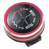 Vixen コンパス オイルフロート式コンパス メタリックコンパス レッド 42031-5