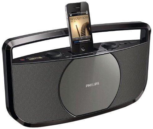 Philips AZD1755/12 Radiorekorder ( CD-Player,MP3 Wiedergabe )