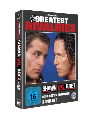WWE - Greatest Rivalries: Shawn Michaels vs Bret Hart [3 DVDs]