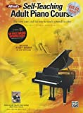Willard A. Palmer Alfred's Self-Teaching Adult Piano Course: The new, easy and fun way to teach yourself to play (Book, CD & DVD)