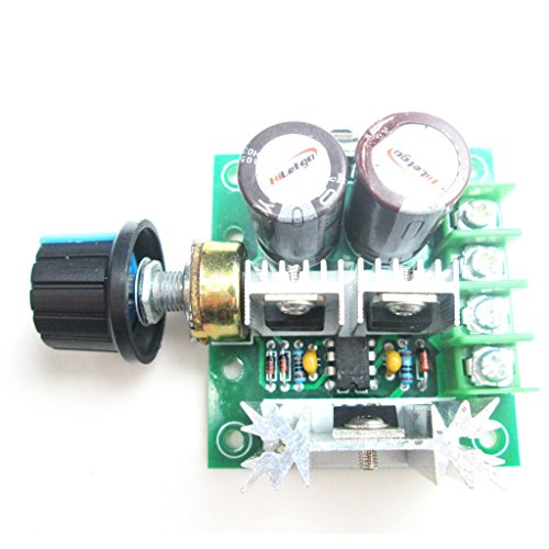 HiLetgo 12v-40v 10a Pulse Width Modulator PWM Dc Motor Speed Control Controller Switch (Pwm Motor Switch compare prices)