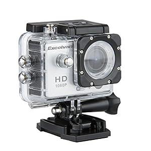 Excelvan TC-DV6 12MP 30M Étanche WIFI Caméra Sport FHD Vidéo DV H264 1080p Caméra Embarquée + Kit de Accessoires Montage - Argenté