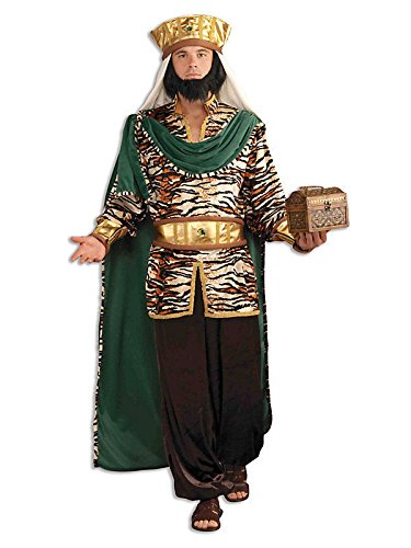 Emerald Wiseman Adult Costume Mens Biblical Christmas Manger Nativity Wise Man