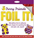 Peter Pauper Press Foil It! Furry Friends (Foil Art Activity Kit)