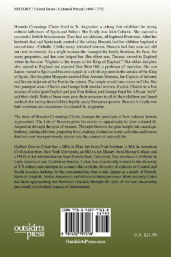 Dona Honoria Cummings Clarke: One of the Wealthiest Women in 18th Century St. Augustine 1746-1804