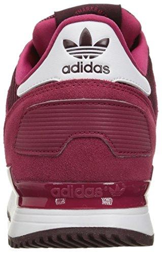 Adidas Originals Women's ZX 700 W Fashion Sneaker, Unity Pink F16/Unity Pink F16/Light Maroon, 7 M US