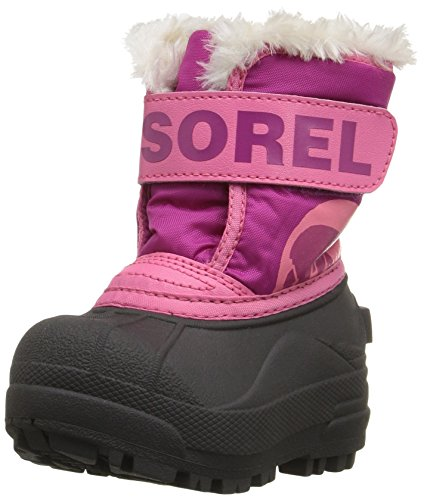 Sorel Commander-K Snow Boot, Red, 6 M US Toddler