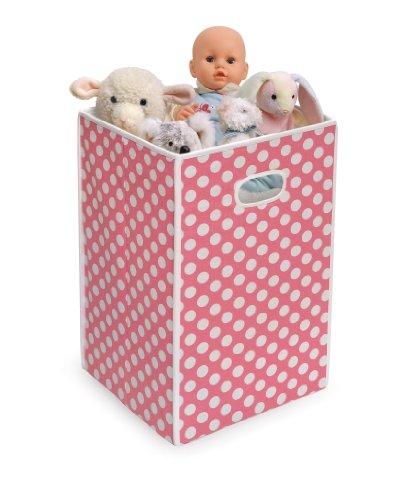Imagen de Badger Basket Cesto plegable / Storage Bin, Pink