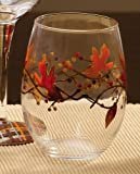 Autumn Inspirations Stemless Glass