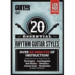 Guitar World: 20 Essential Rhythm Guitar Styles