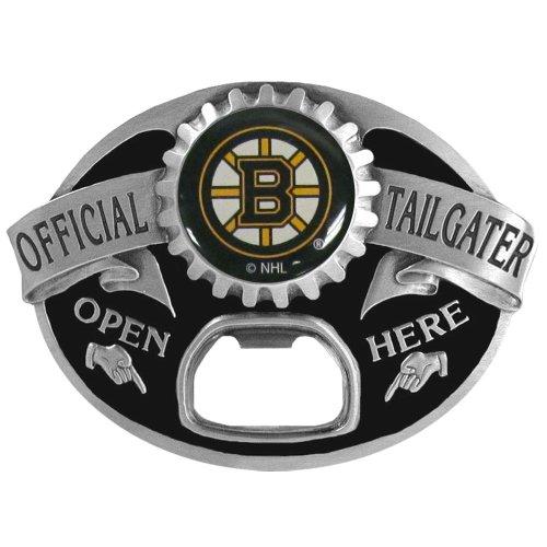 NHL Boston Bruins Bottle Opener Belt Buckle (Boston Bruins Belt Buckle compare prices)
