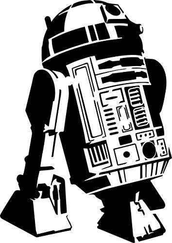 cool-r2d2-stencil-12-x-8-190mu-mylar-a-airbrushing-craft-droid-robot-star-wars