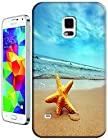 Cell Phone Case Beach Design Beautiful Sunshine Water trees For Samsung Galaxy S5 i9600 No.2