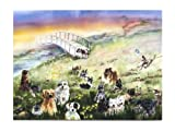 Rainbow Card Company Rainbow Bridge Pet Sympathy Card with Envelope