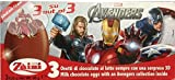 Zaini Disney Avenger Tripack chocolate egg treats with TOY- 3 per box-Made in ITALY