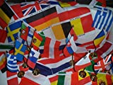 UK Flag European Euro 27 Countries Flag Bunting Table Flags Decorations Pack Ideal For Football Championship Pub Club School Festival Business Eurovision Song Contest Party Decoration