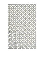 SAFAVIEH Alfombra Bessa Textured Area Rug, 121 X 182 Cm (Plata)