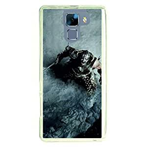 a AND b Designer Printed Mobile Back Cover / Back Case For Huawei Honor 7 (HON_7_2070)
