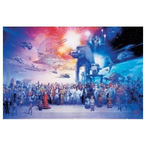 star wars cast poster