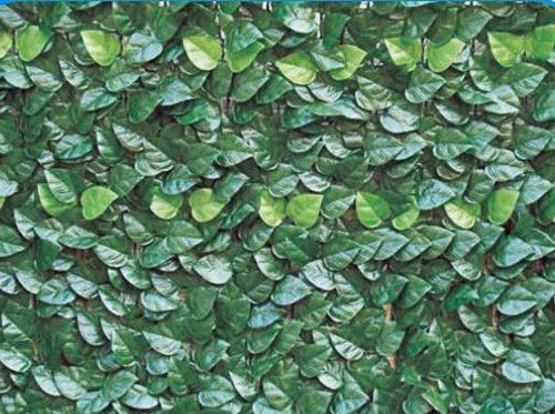 Siepe artificiale edera lauro mt 1x3 per recinzione in rotolo - Giardino artificiale ...
