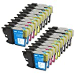 20 Pack - Compatible Ink Cartridges f...